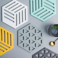 3d Printed Coaster polygon hexagonal