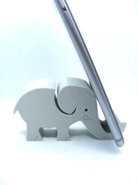 3d printed Elephant phone holder