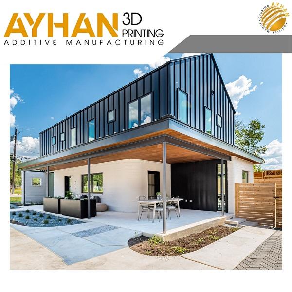 پرینت سه بعدی خانه ساختمان منزل مسکونی | چاپ سه بعدی | فروش