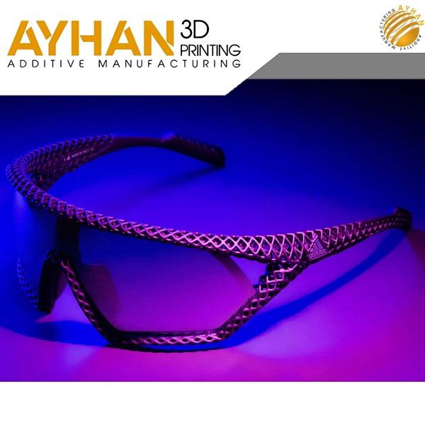 3D Printed sunglasses Adidas - پرینت سه بعدی عینک آفتابی برند آدیداس