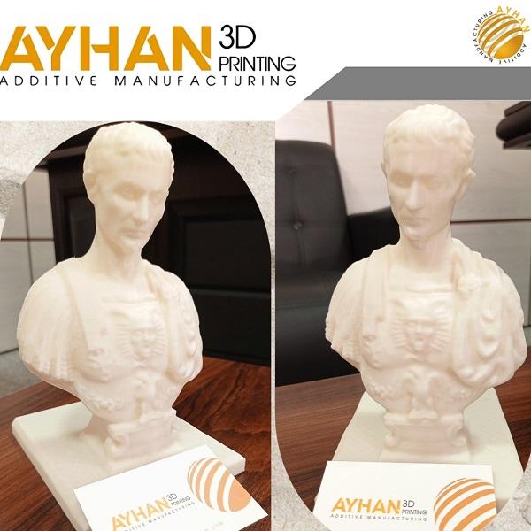 مجسمه سازی | مجسمه سزار | پرینت سه بعدی مجسمه آیهان |