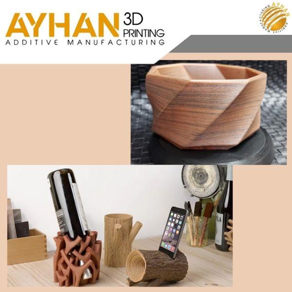 Wood 3D printing